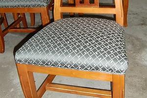 食卓椅子(ダイニングチェア)の張替え例 【施工後】