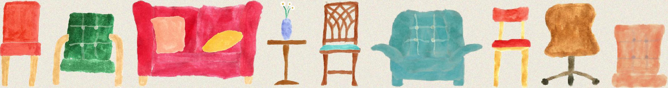 椅子・ソファーの張替え、修理のハル椅子店